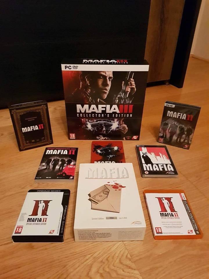 Csodálatos és exkluzív Mafia-gyűjtemény keresi új gazdáját!